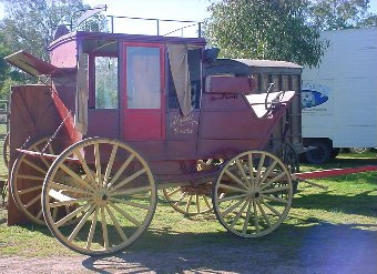 Stagecoach for Cowboy-Themed Parties